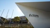 【京都鉄道博物館】ホテルから徒歩10分。