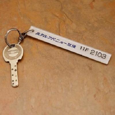 部屋のキーの写真