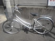 貸出用の自転車です