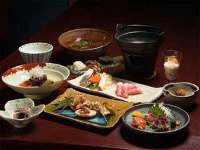 信州創作和食のコース料理