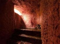 幻想的な貸切洞窟風呂。