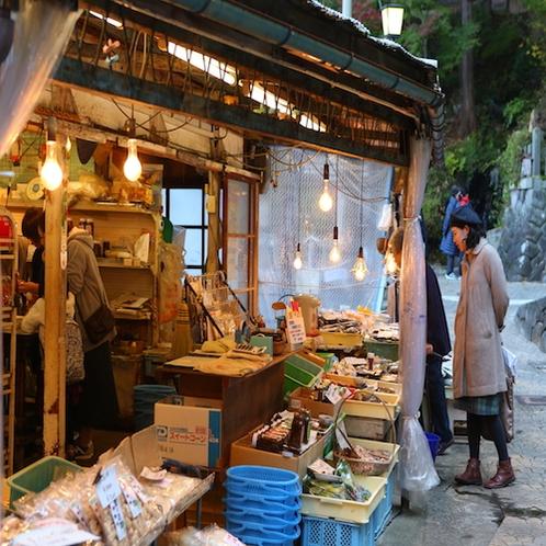 野沢温泉街の風景