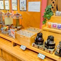 ◆朝食バイキング◆高知県産の食材を使ったフレッシュジュースやテイクアウトできるコーヒーも