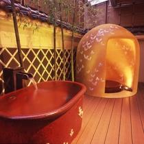 土佐御苑さんの入浴チケット付プランをご用意しています