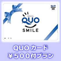 クオカード500円付