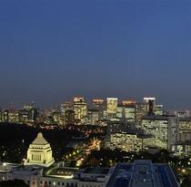 夜景国会議事堂側夜