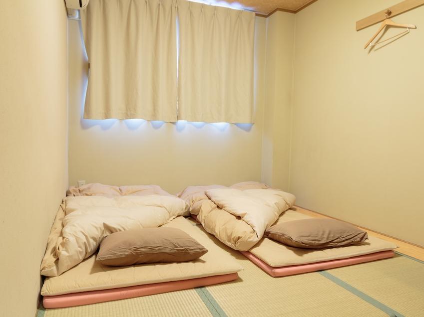 6畳和室(1〜2名様)【バス/トイレがセパレート】