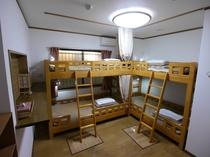 4ベッド女性専用相部屋(ドミトリー)~清潔で安心ステイ~