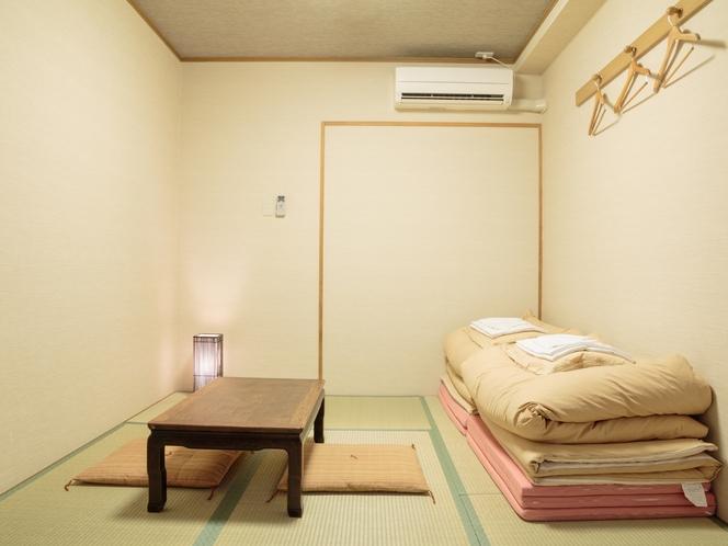 6畳和室(1~2名様)【バス/トイレがセパレート】