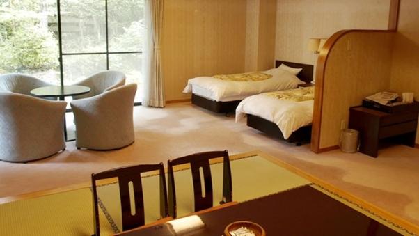 ◆〜中庭を望む粋なお部屋〜 1F 和洋室