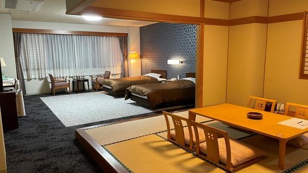 ◆〜2ベッドと8畳間・グループに最適〜 2F 和洋室