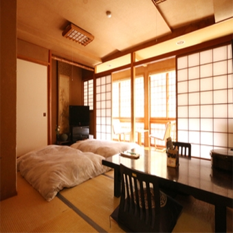 【禁煙】【和室8畳または10畳A】温泉街に面しているお部屋