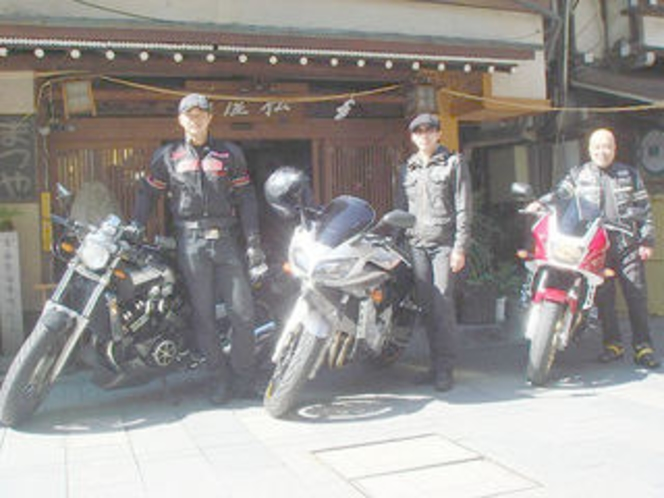 バイクのお客様 14