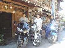 バイクのお客様 3