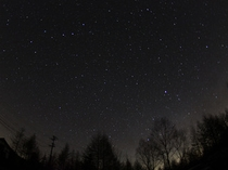 月あかりの少ない晴れた夜には 満天の星空がお楽しみ戴けます。