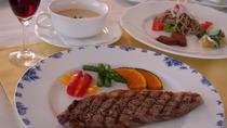 *【夕食特別コース例】メインが2皿(肉&魚)になり、サブオードブル・食前酒もご提供