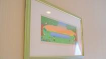 *[客室イメージ]温かみのあるほっと心和む癒しの絵画