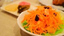 *[夕食一例]にんじんとレーズンのサラダ