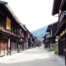 *[奈良井宿]当館より車で約65分!宿場時代にタイムスリップ!情緒溢れる町並みをお楽しみ下さい
