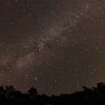 *[庭から見える星空]高原の夜はみんなで星空観賞☆