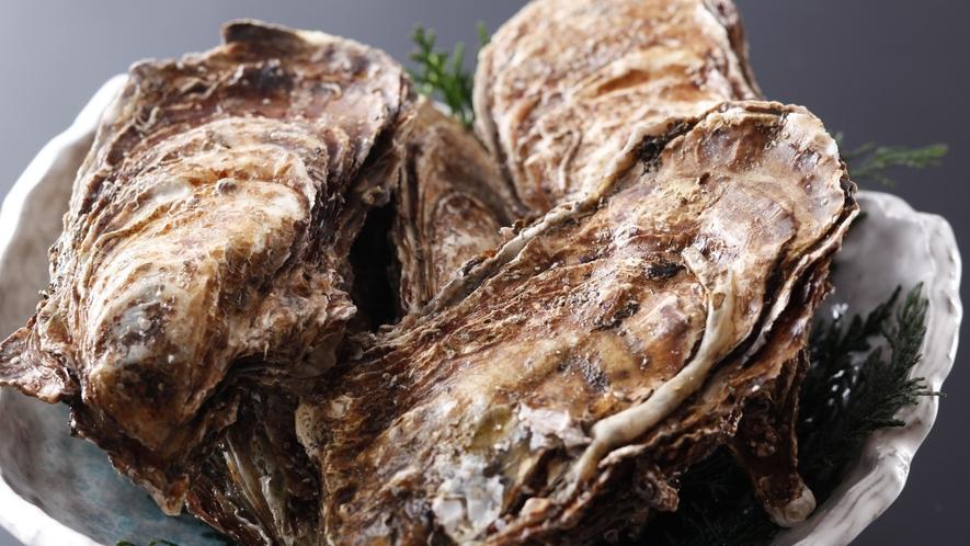 冬の味覚「牡蠣」/例