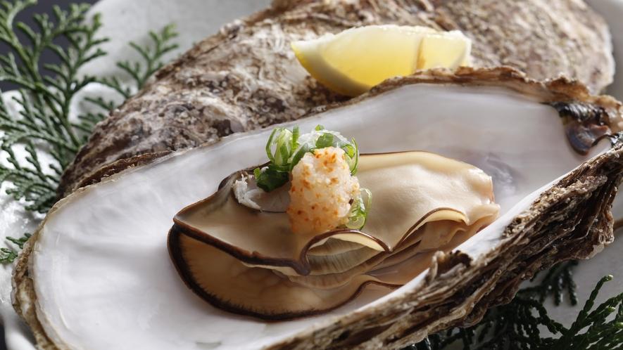 焼き牡蠣/例