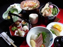会席料理1