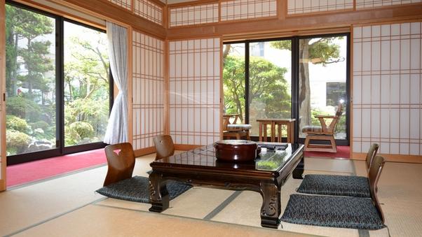 『特別室10畳&6畳』【禁煙】<バス・洗浄機能付トイレ>
