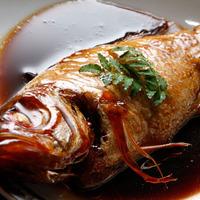 『手ぶらで温泉◆日帰りプラン◆夕食付き』ノドグロ会席◆ノドグロ煮付けと和牛陶板焼きのカニなし会席