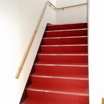 特別室(2階)へ続く階段