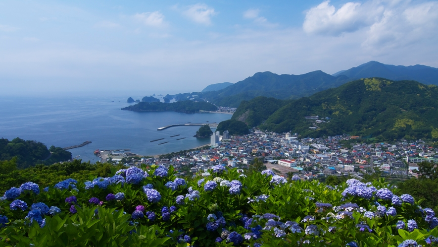 世界ジオパーク 伊豆GEO旅 牛原山から眺望