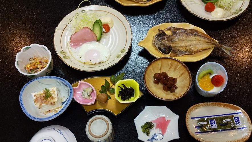 お食事の一例 朝食(和食)
