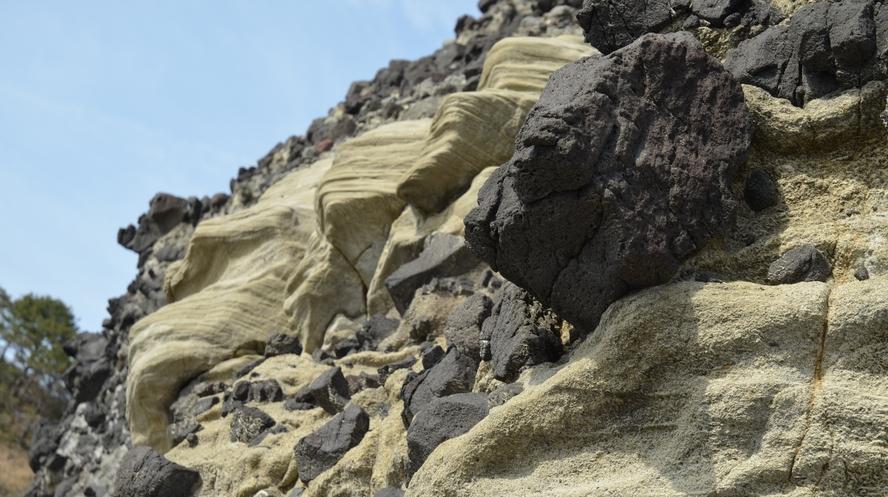 世界ジオパーク 伊豆GEO旅 火山岩