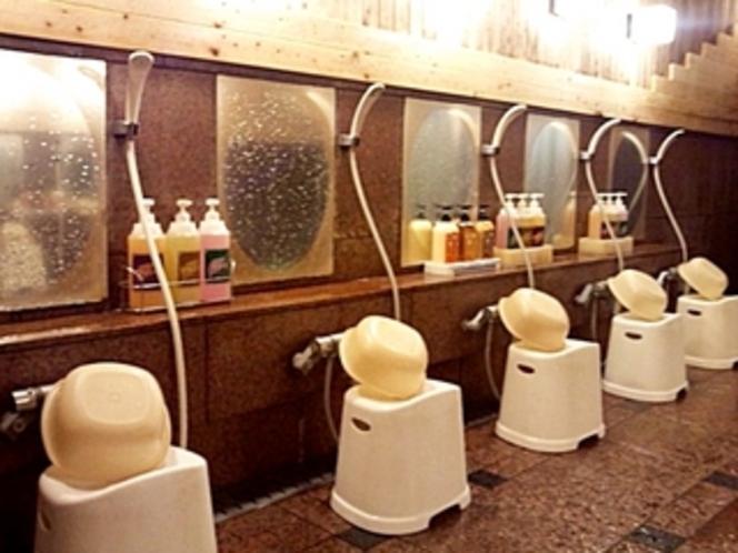 大浴場3洗い場