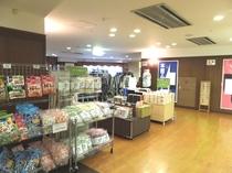 売店(お菓子・洋服)