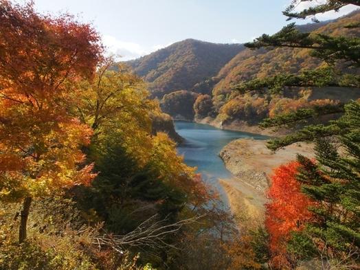 【秋の四万温泉 紅葉探索!】一泊二食バイキングプラン