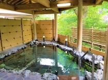【新緑】岩露天風呂
