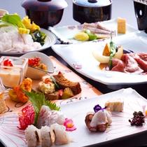 淡路島の旬をちりばめた和洋折衷の特選コース≪料理イメージ≫