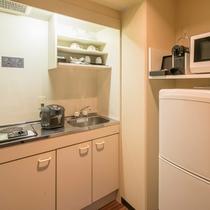 ≪ファミリーグランデ≫離乳食のご用意にも使えるミニキッチンを備えたファミリーにやさしいお部屋