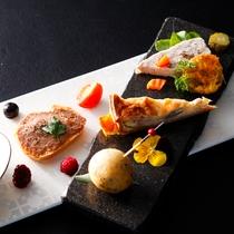 フラワーアイランド・淡路の旬菜をちりばめたオードブル≪料理イメージ≫