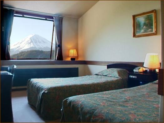 富士山の見える部屋でゆっくり過ごす1泊2食付きプラン♪