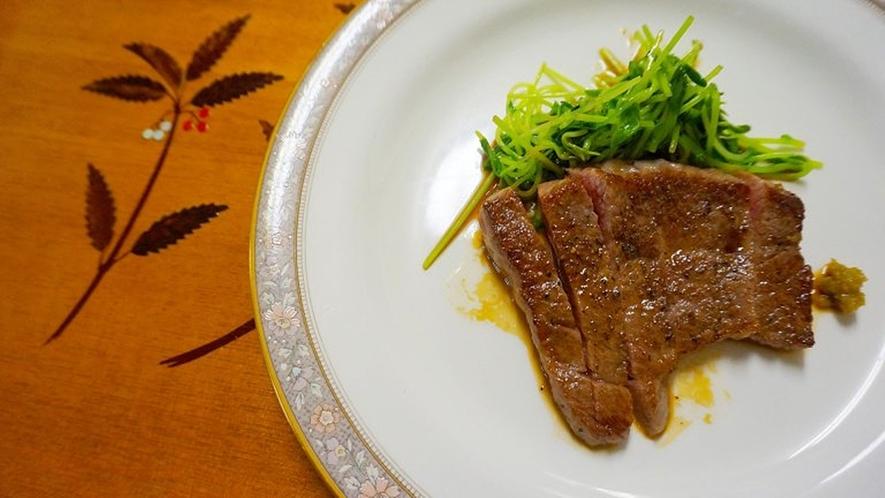 *素材の味を活かした、ここでしか食べられない料理をご賞味ください。