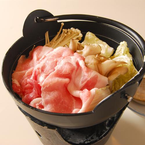 *お鍋(お夕食一例)