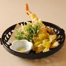 *天ぷら(お夕食一例)