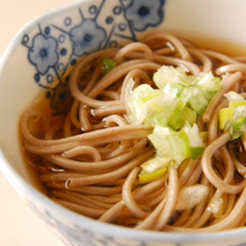 *お蕎麦(お夕食一例)