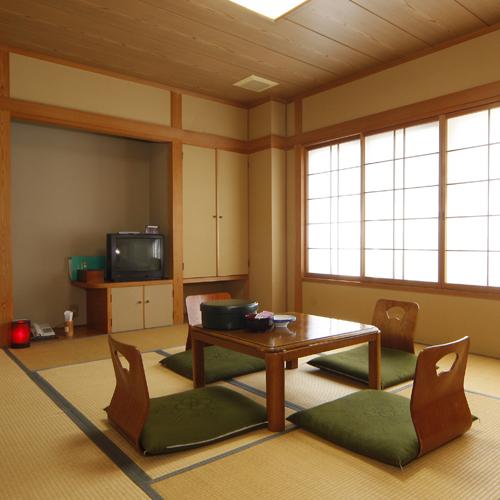 眺めの良いゆったりひろびろ和室タイプのお部屋