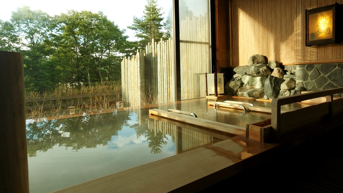 【1泊素泊り】到着が遅くなってもOK♪草津温泉を満喫&ちょっぴり朝寝坊も出来ちゃいます!