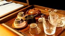 【客室備品】茶道具等