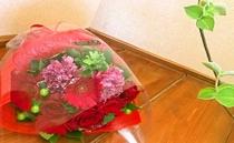 【花束】花束のご注文も承ります。※別途料金がかかります。※3日前までにご連絡お願い致します。