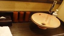 ●客室:洗面台(和室)